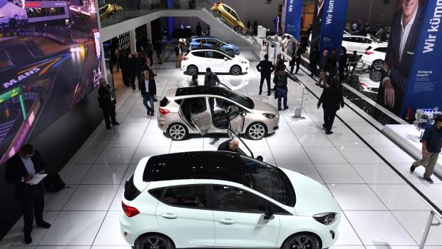 At the International Frankfurt Motor Show
