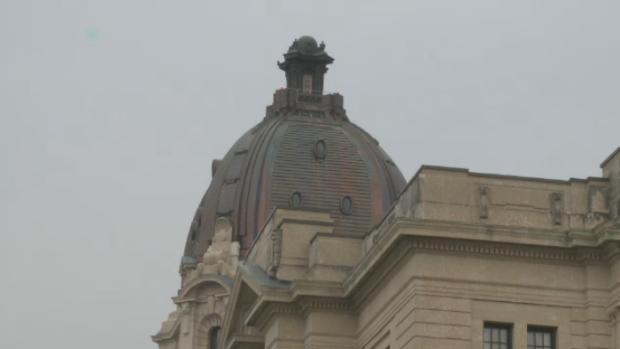 Saskatchewan legislature.