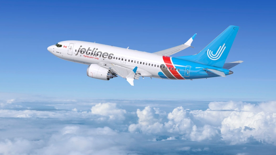 "Canada Jetlines plans to operate Boeing 737-800NG aircraft, which will seat 189 passengers in an ""all coach"" configuration. (Jetlines.ca)"