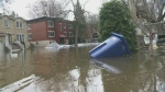 Environment Canada is warning of possible flooding