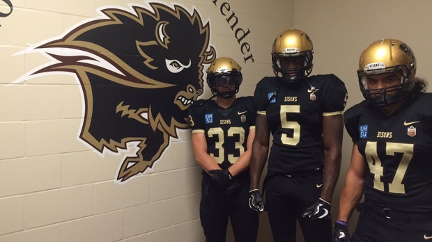 New Bisons jersey