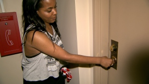 Shevonne Leslie called a locksmith, who quoted very good prices, after she was locked out of her home. (CTV)