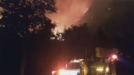 Waterton fire (Courtesy: Brennen Hanna )