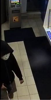 Police released a photo of the suspect after a robbery at an ATM in Windsor. (Courtesy Windsor police)