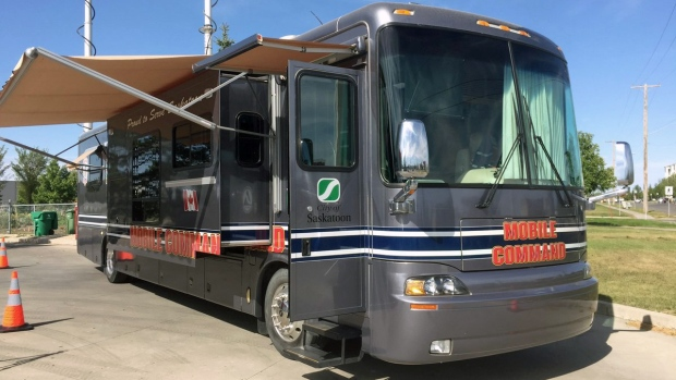 Saskatoon mobile command bus