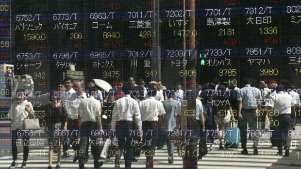 Markets move higher after record highs
