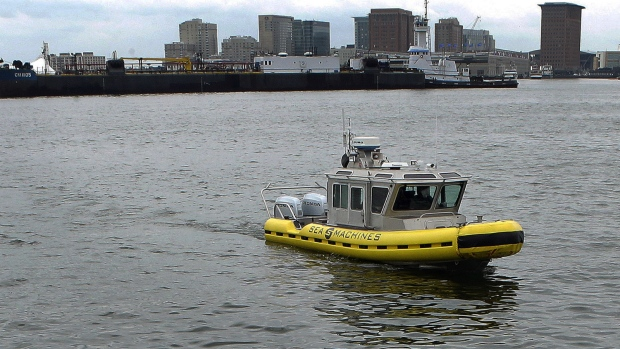 Self-driving boats hit the water