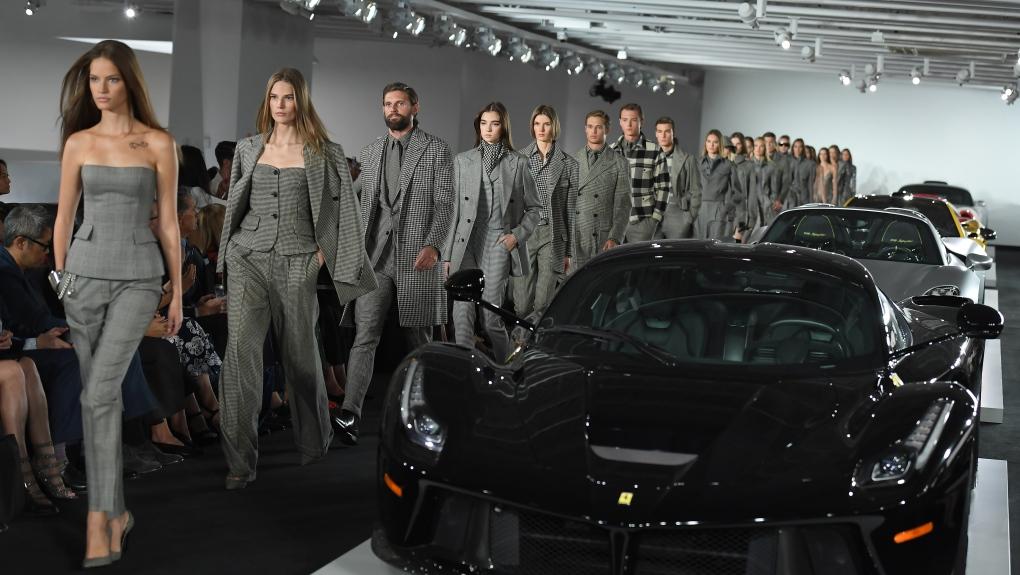 Ralph Lauren hosts star-studded fashion showcase in private garage ...