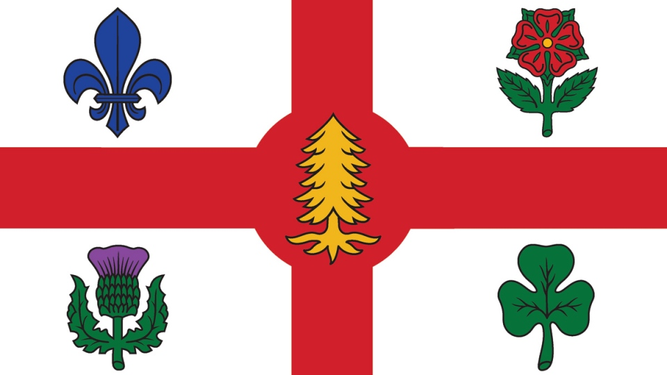 The City of Montreal flag. (source: City of Montreal)