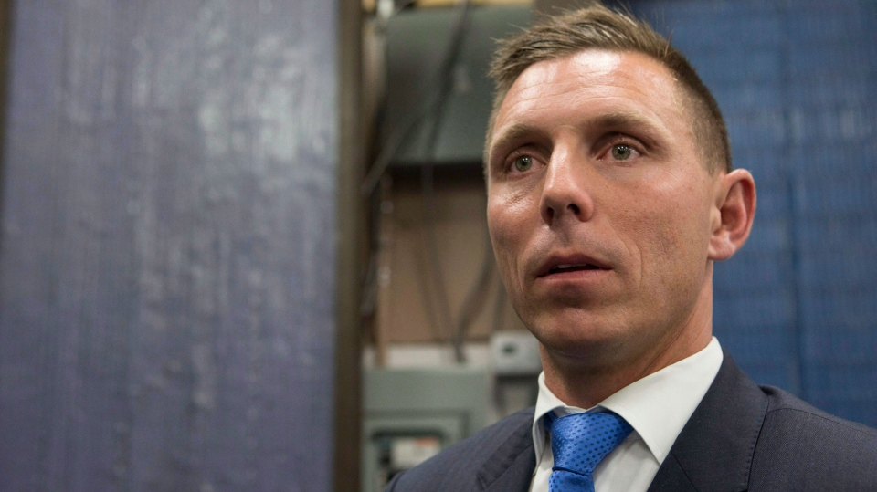 Ontario PC Leader Patrick Brown is pictured in a file photo from Thursday, September 1, 2016. THE CANADIAN PRESS/Chris Young