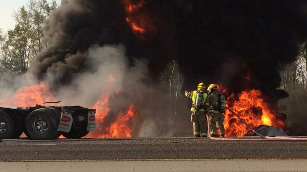 Fuel Truck Fire
