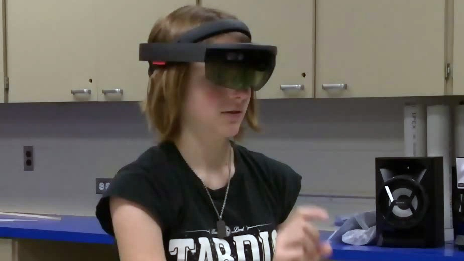 A New Brunswick high school is stepping into a world of virtual reality thanks to new HoloLens technology.