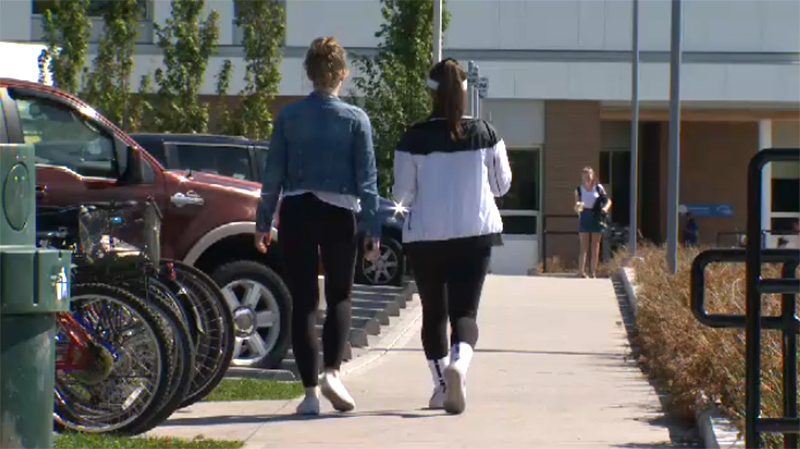 Trustees will vote on scrapping the dress code for all schools in the Greater Victoria School District at a meeting later this month. Sept. 13, 2017. (CTV Vancouver Island)