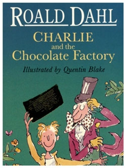 Charlie In The Chocolate Factory Author