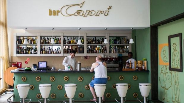 Hotel Capri in Havana, Cuba