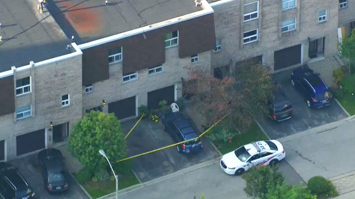 A 24-year-old man is facing a murder charge after a woman was found stabbed to death at a North York home on September 13, 2017.