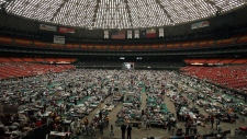 Katrina evacuees from New Orleans