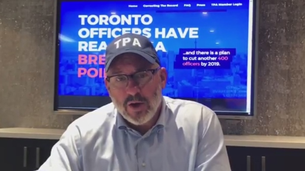 TPA President Mike McCormack is seen in a screengrab from a YouTube video posted Aug. 10.