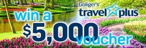 Goliger's Travel Plus Contest