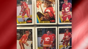 Postscript, Calgary Flames, Chris Epp, NHL, Saddle