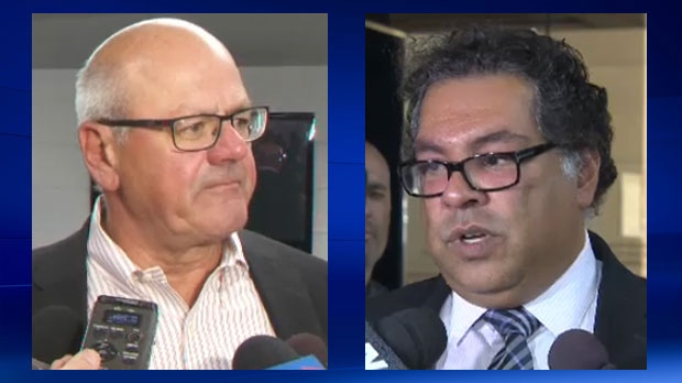 Calgary Flames president Ken King and Mayor Nenshi addressed arena negotiations during the week of September 11, 2017