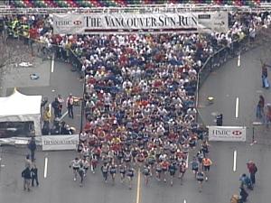 Emotional Sun Run for Ladner-Beaudry's family | CTV News