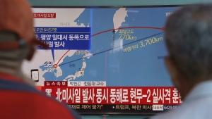 North Korea fires missile