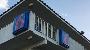 This photo shows a Motel 6 in Phoenix on Thursday, Sept. 14, 2017. (AP / Anita Snow)