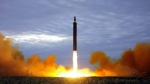 In this Aug. 29, 2017 file photo distributed on Aug. 30, 2017, by the North Korean government shows what was said to be the test launch of a Hwasong-12 intermediate range missile in Pyongyang, North Korea. North Korea launched an intermediate-range missile that flew over Japan in its longest-ever flight on Friday, Sept. 15, 2017, showing that leader Kim Jong Un is defiantly pushing to bolster his weapons programs despite U.S.-led international pressure. Independent journalists were not given access to cover the event depicted in this image distributed by the North Korean government. The content of this image is as provided and cannot be independently verified.(Korean Central News Agency/Korea News Service via AP, File)