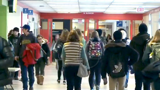 Ontario college staff on strike