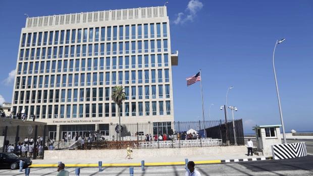 U.S. embassy in Havana, Cuba, in 2015