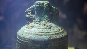 The ship's bell from HMS Erebus