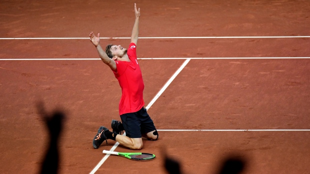 Mahut, Herbert doubles win puts France in control