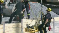 Ottawa high-angle rescue team rescues injured work