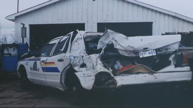 Calder was seriously injured in a roadside crash in 2001.
