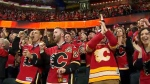 Calgary Flames fans - Scotiabank Saddledome (file)