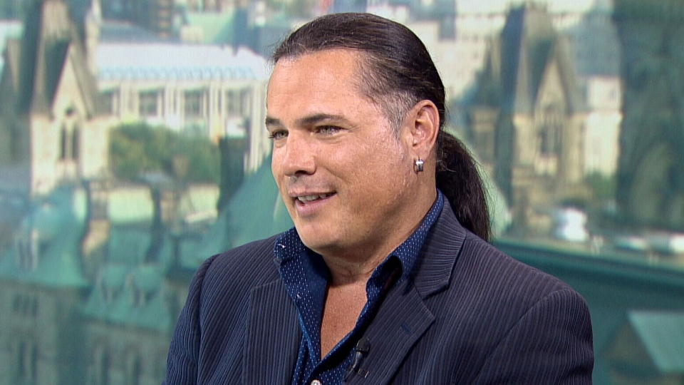 Independent Sen. Patrick Brazeau on CTV's Question Period.