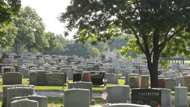 Tax breaks for cemeteries
