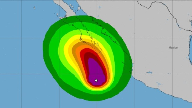 Tropical Storm Norma threatens Cabo