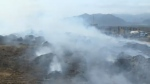 Kenow wildfire in Waterton Lakes National Park on Friday, September 15, 2017