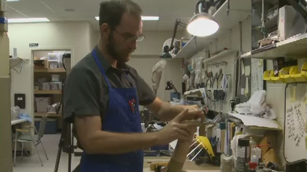 Charlottetown orthotic and prosthetic technician, Paul Hoar has recreated Terry Fox's iconic artificial leg to show how far technology has come.