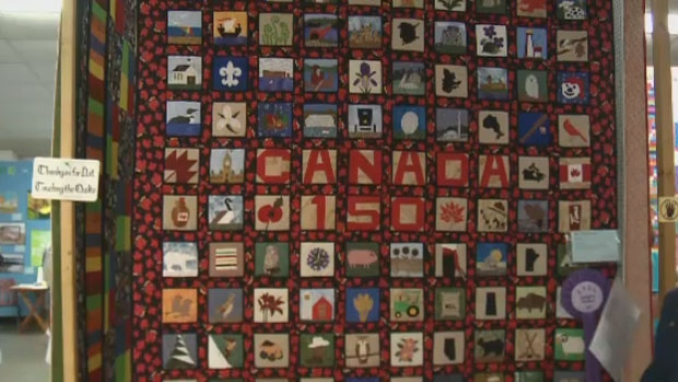 The 37th annual Quilt Show in Quispamsis, N.B. featured more than 250 quilts with a Canada 150 theme.