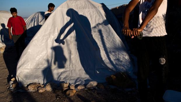 Pakistani migrant in Greece