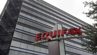 This July 21, 2012, file photo shows Equifax Inc., offices in Atlanta. Canada's privacy watchdog launched an investigation into the massive Equifax Inc. data breach after hearing from dozens of concerned Canadians as customers in the country have yet to be told whether hackers stole their personal information. THE CANADIAN PRESS/AP/Mike Stewart, File