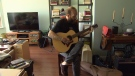 Music is important for Chris Walters, and during his living wake he entrusted his prized instruments to friends and family. (CTV)