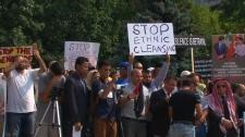 Myanmar protest Toronto