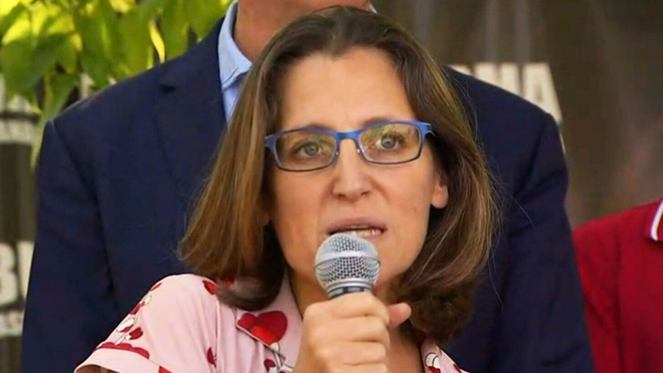 Foreign Affairs Minister Chrystia Freeland says she and Prime Minister Justin Trudeau plan to 'focus' on the plight of Rohingya Muslims in Myanmar at next week's United Nations General Assembly in New York.