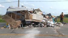 pickup trailer crash punkeydoodles corners