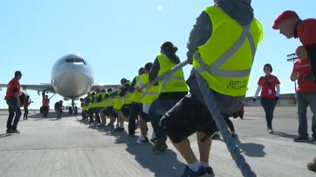 2017 United Way Plane Pull