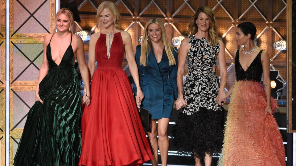 Latest on Emmy Awards: Laura Dern wins Emmy for 'Big Little Lies' role